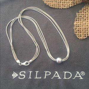 "Silpada Thoreau Necklace 16"" Long"